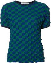 Julien David 3D Thorn T-shirt - women - Cotton - S