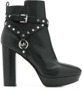 MICHAEL Michael Kors stud-detail ankle boots