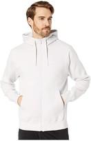 Nike NSW Club Hoodie Full Zip (Vast Grey/Vast Grey/White) Men's Sweatshirt