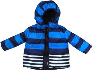 Burberry Blue Polyester Jackets & Coats