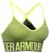 Under Armour Carbon Heather Armour® Seamless Feeder Stripe Sports Bra