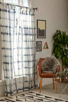 Urban Outfitters Accordion Indigo Dye Curtain