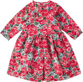 Cath Kidston Bewmore Rose Kids Pleat Jacquard Dress