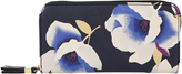 Accessorize Marlene Print Large Zip Around Wallet