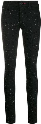 Philipp Plein Crystal Studded Leggings