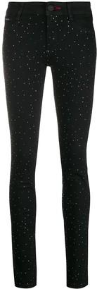 Philipp Plein crystal studded leggings