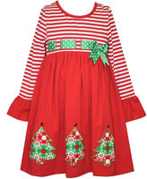 Bonnie Jean Long Sleeve Party Dress - Preschool