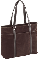 "Mobile Edge Women's Suede Ultra Tote- 15.4""PC/17""Mac"