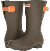 Hunter Original Back Adjustable Short Women's Rain Boots