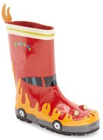 Kidorable Boy's 'Fireman' Waterproof Rain Boot