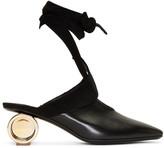 J.W.Anderson Black Cylinder Ballet Heels