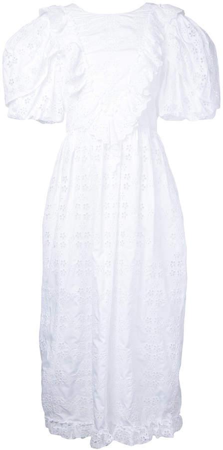 Simone Rocha open back broderie anglaise dress