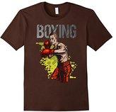 Men's Boxing T-Shirt Boxer Tee Medium