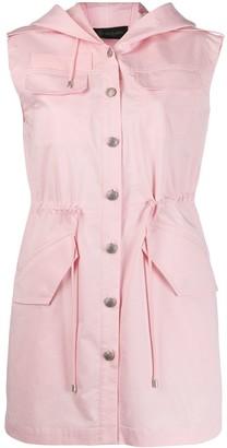 Mr & Mrs Italy Multi-Pocket Hooded Dress