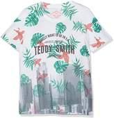 Teddy Smith Boy's Tubler Printed Short Sleeve T-Shirt