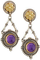 Konstantino Erato Floral Amethyst Doublet Drop Earrings