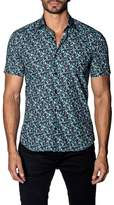 Jared Lang Dotted Short Sleeve Shirt
