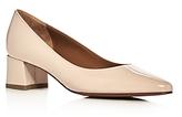 Aquatalia Phoebe Weatherproof Pointed Toe Mid Heel Pumps