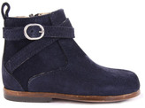Little Mary Amille Suede Boots with Zip Navy blue