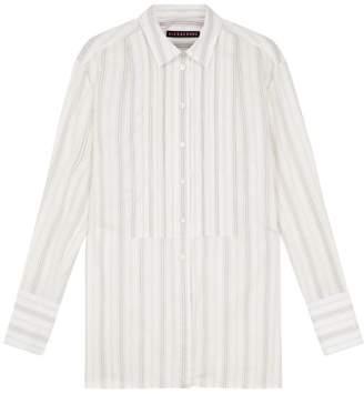 ALEXACHUNG Alexa Chung - Cream Cotton Dakota Pintuck Shirt - 12 - Natural
