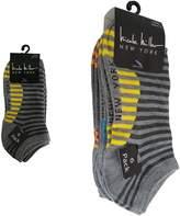 Nicole Miller 6 Pack Striped Low Cuts Women Ladies Socks Size