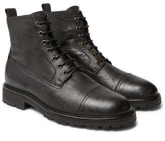 Belstaff Alperton 2.0 Leather Boots