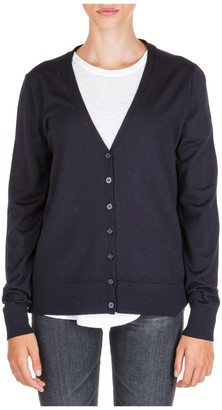 Tory Burch Contrasting Panelled Cardigan