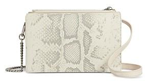 AllSaints Claremont Mini Leather Crossbody Bag