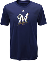 Majestic Kids' Milwaukee Brewers Geo Strike T-Shirt