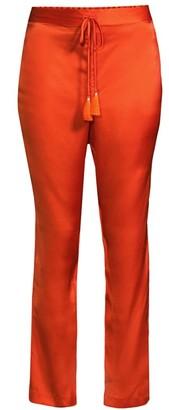 Natori Silk Drawstring Pajama Pants