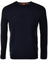 BOSS ORANGE HUGO Kusvet Jumper Navy