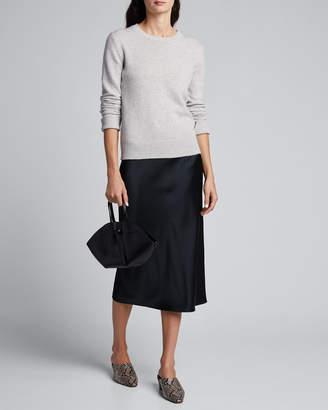 Joseph Crewneck Long-Sleeve Pure Cashmere Sweater