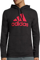 adidas Long-Sleeve Essentials Cotton Pullover Hoodie
