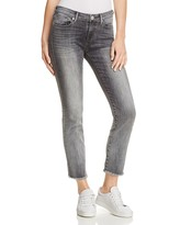 True Religion Sara Cigarette Crop Jeans in Eternal Grey