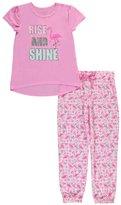 "Delia's Big Girls' ""Shining Flamingo"" 2-Piece Pajamas"