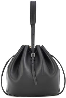 Jil Sander Small leather bucket bag