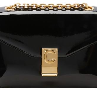 Celine Medium C Bag In Patent Calfskin