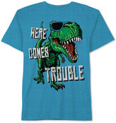 JEM Dinosaur-Print T-Shirt, Little Boys (4-7)