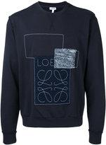 Loewe Anagram sweatshirt - men - Cotton - S