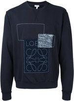 Loewe Anagram sweatshirt - men - Cotton - XS