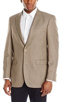Tommy Hilfiger Men's Two Button Houndstooth Sport Coat