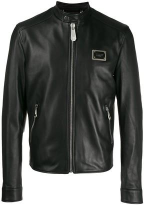 Philipp Plein Statement moto jacket