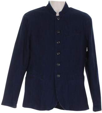 John Varvatos Navy Cotton Jackets