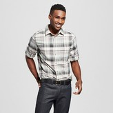 Mossimo Men's Plaid Button Down Shirt