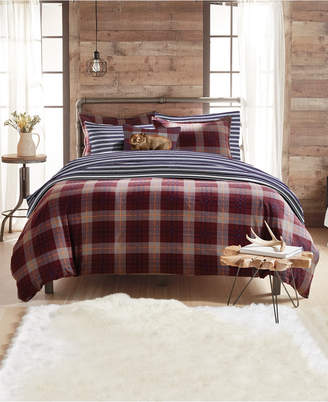 G.H. Bass Canyon Plaid Full/Queen Comforter Set