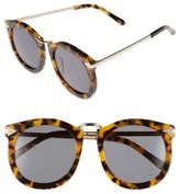 Karen Walker Women's 'Super Lunar - Arrowed By Karen' 52Mm Sunglasses - Crazy Tort/ Gold