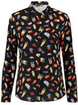 Love Moschino Printed Crepe Shirt