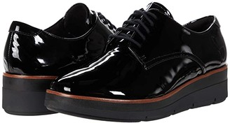 Clarks Shaylin Lace (Black Patent Leather) Women's Shoes