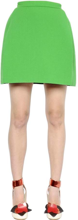 DELPOZO Double Sided Neoprene Skirt