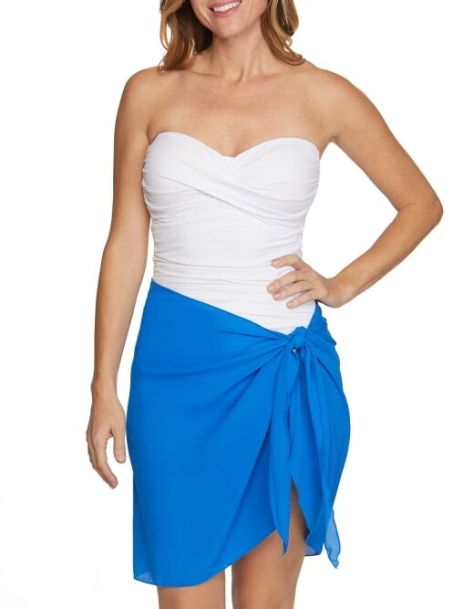Thumbnail for your product : Dotti Summer Sarong Short Pareo Cover-Up